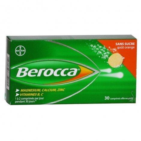 Berocca Fatigue Passagère-Irritabilité 30 Comprimés Effervescents pas cher, discount