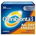 Student Pack Omnibionta 3 All Day Energy 30 comp + Promagnor 30 caps