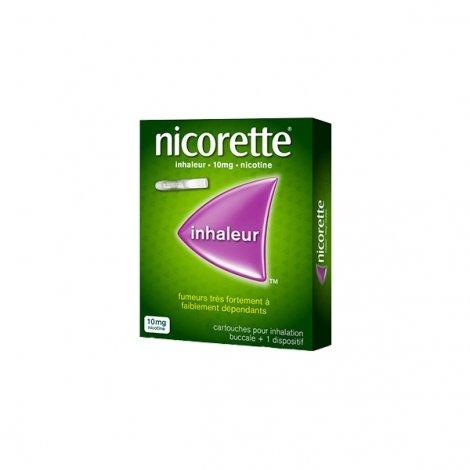 Nicorette Inhaleur 10 mg Dispositif + 42 Cartouches pas cher, discount