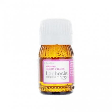 Lehning N°122 Lachesis Troubles de la Ménopause 30 ml pas cher, discount