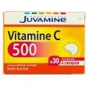 Juvamine Vitamine C 500 30 comprimés à croquer