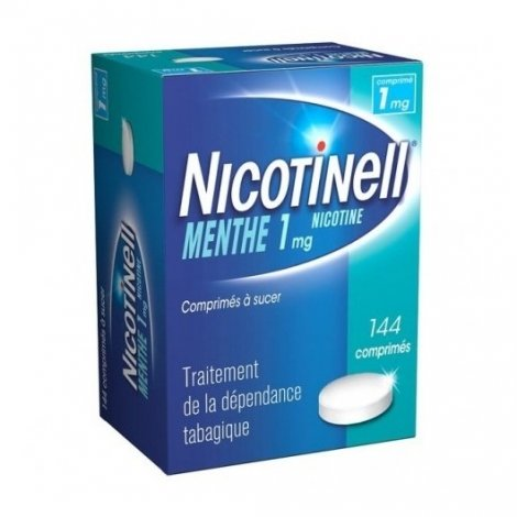 Nicotinell 1 mg Menthe 144 Comprimés à sucer pas cher, discount
