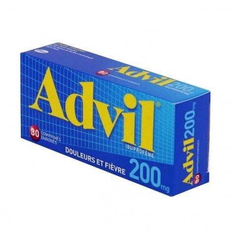 Advil 200mg Douleurs & Fièvre 30 Comprimés Enrobés pas cher, discount