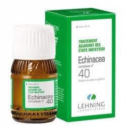 Lehning N°40 Echinacea Etats Infectieux 30ml