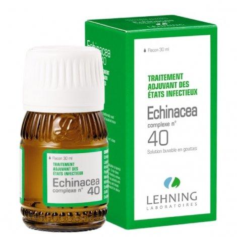 Lehning N°40 Echinacea Etats Infectieux 30ml pas cher, discount
