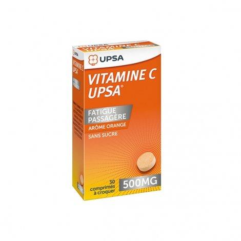 UPSA Vitamine C 500mg Fatigue Passagère Orange x30 Comprimés pas cher, discount