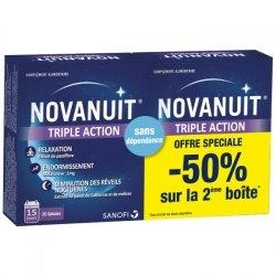 Novanuit Triple Action Duopack 2 x 30 gélules