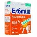 Exomuc Toux Grasse Goût Orange 15 sachets