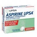 Aspirine UPSA 1000 mg 20 Comprimés Effervescents