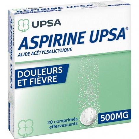UPSA Aspirine 500 mg 20 Comprimés effervescents pas cher, discount
