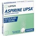 Aspirine UPSA 500 mg 20 Comprimés effervescents