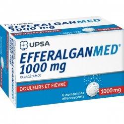 Efferalganmed 1 G 8 Comprimés Effervescents