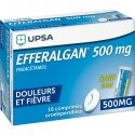 Efferalganodis 500 mg 16 Comprimés Orodespersibles