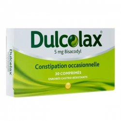 Dulcolax 5mg Bisacodyl Constipation Occasionnelle 30 comprimés