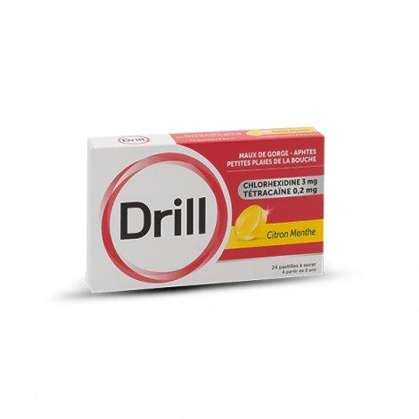 Drill 24 Pastilles à sucer Citron Menthe pas cher, discount