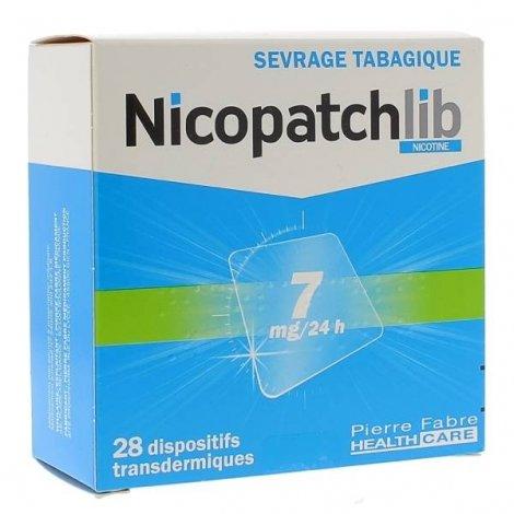 Nicopatchlib 7 mg/24h 28 Patchs pas cher, discount