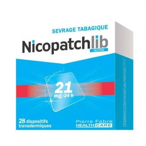 Nicopatchlib 21 mg/24h 28 Patchs pas cher, discount