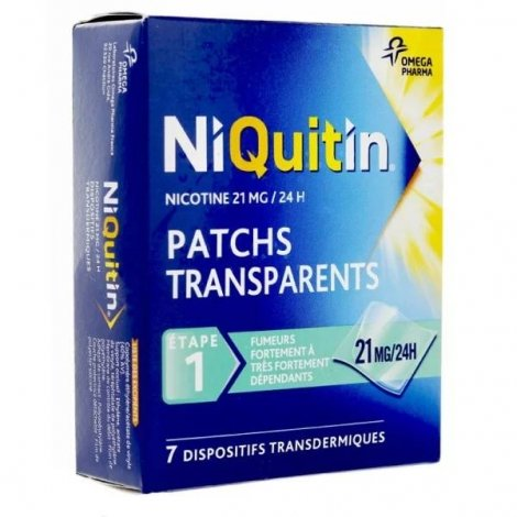NiQuitin 21 mg/24h 7 Patchs pas cher, discount