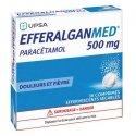 Efferalganmed 500 mg 16 Comprimés Effervescents Sécables