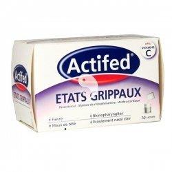 Actifed Etats Grippaux 10 Sachets pas cher, discount