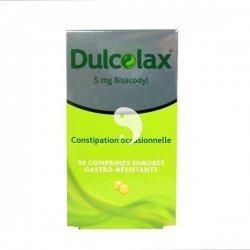 Dulcolax Constipation Occasionnelle Boite de 30 Comprimés pas cher, discount