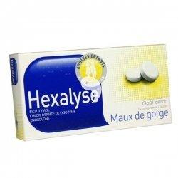 Hexalyse Maux de Gorge 24 Comprimés à Sucer pas cher, discount