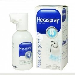 Hexaspray Collutoire Mal de Gorge Flacon 30 g