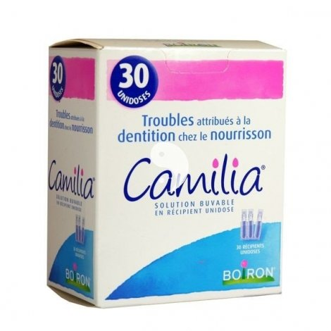 Camilia Troubles Attribués A La Dentition Chez Le Nourrisson Solution Buvable 1 ml 30 Récipients Unidoses pas cher, discount