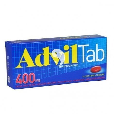 Advil 400 mg 14 Comprimés enrobés pas cher, discount
