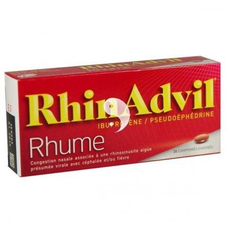 RhinAdvil 20 Comprimés enrobés pas cher, discount