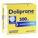 Doliprane 500 mg Douleurs et Fièvre 16 Comprimés Effervescents