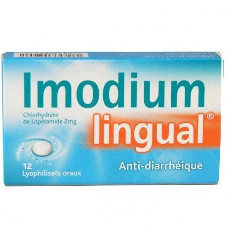 Imodium Lingual 2 mg 12 Lyophilisats Oraux pas cher, discount