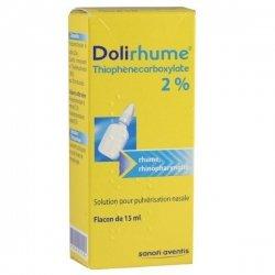 Dolirhume 2% de Thiophénecarboxylate Solution pour Pulvérisation Nasale Flacon de 15 ml pas cher, discount