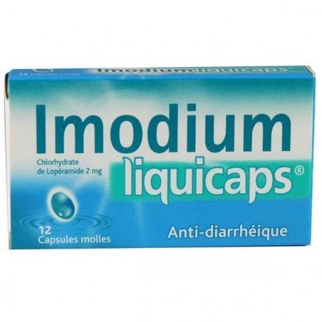 Imodium Liquicaps 2 mg 12 Capsules Molles pas cher, discount