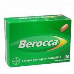 Berocca Fatigue Passagère-Irritabilité 30 Comprimés Pelliculé pas cher, discount