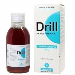 Drill Expectorant Adulte Solution Buvable 200 ml pas cher, discount