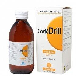 CodéDrill Adulte Solution Buvable Sans Sucre 200 ml pas cher, discount