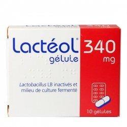 Lactéol 340 mg 10 gélules pas cher, discount