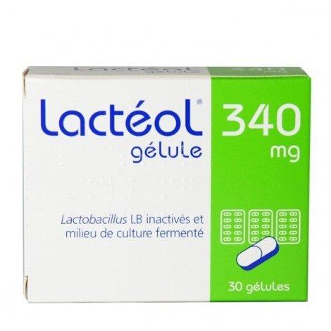 Lactéol 340 mg 30 gélules pas cher, discount