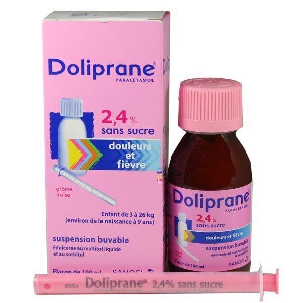 doliprane 2.4 sans sucre