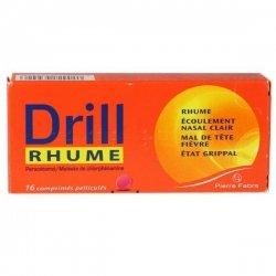 Drill Rhume 16 Comprimés pelliculés pas cher, discount
