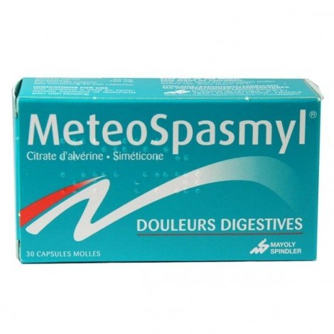 Meteospasmyl 30 Capsules molles pas cher, discount