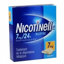 Nicotinell 7 mg/24h 7 Patchs pas cher, discount