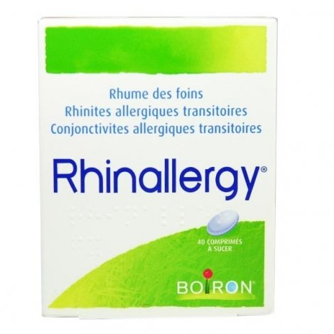 Rhinallergy 40 Comprimés à sucer pas cher, discount