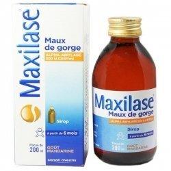 Maxilase Maux de Gorge Sirop 200 ml pas cher, discount