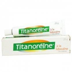 Titanoréine Lidocaïne 2% crème 20g pas cher, discount