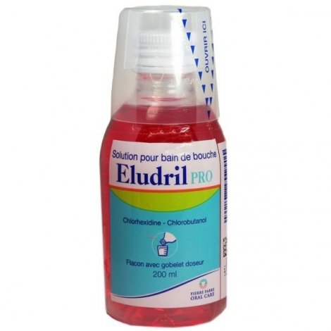 Eludril Pro Solution Bain de Bouche 200 ml  pas cher, discount