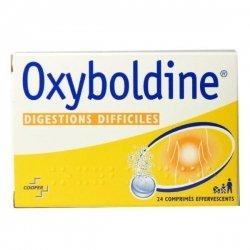 Oxyboldine Digestion Difficile 24 Comprimés Effervescents