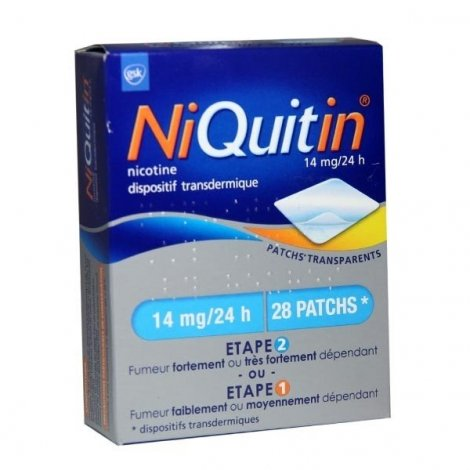 NiQuitin 14 mg/24h 28 Patchs pas cher, discount