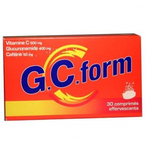 GCForm 30 Comprimés effervescents pas cher, discount
